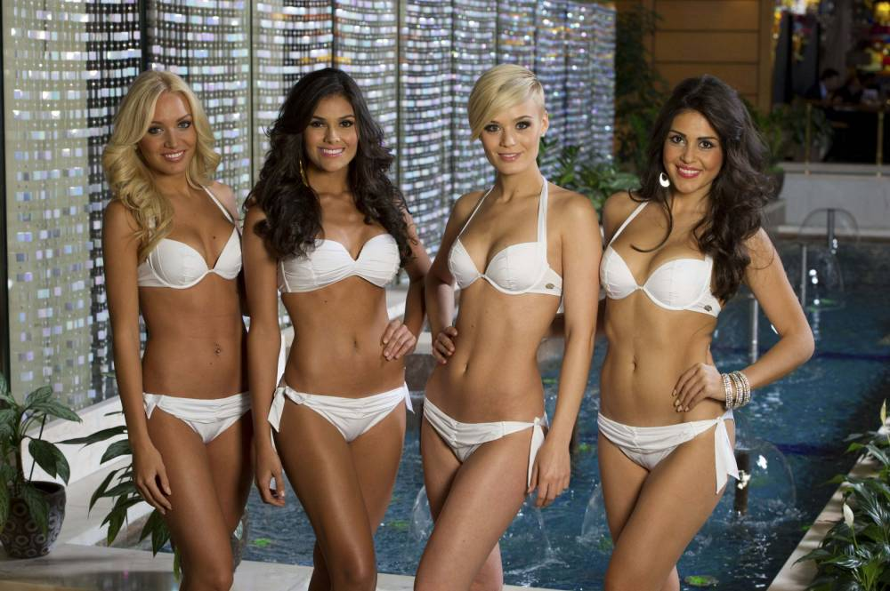 Which model is the most attractive to you? From left: 1, 2, 3, 4.