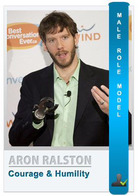Aron Ralston - Male role model