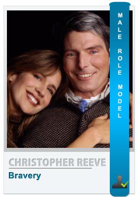 Christopher Reeve: Role model for men