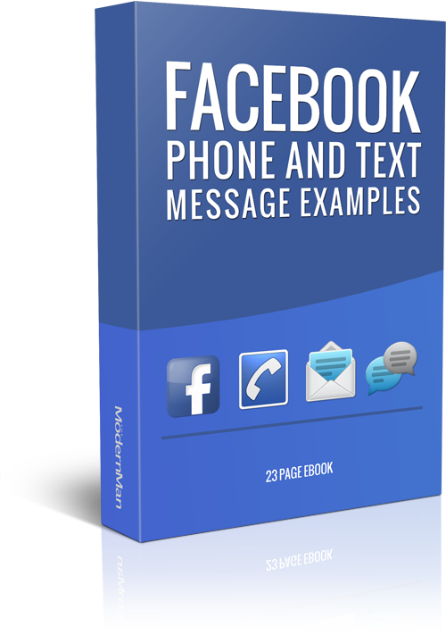 Facebook, Phone and Text Message Examples
