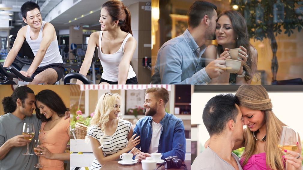 Flirting Body Language