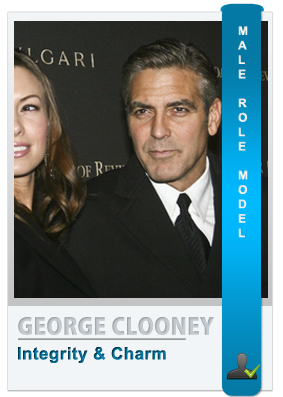 George Clooney - Male role model