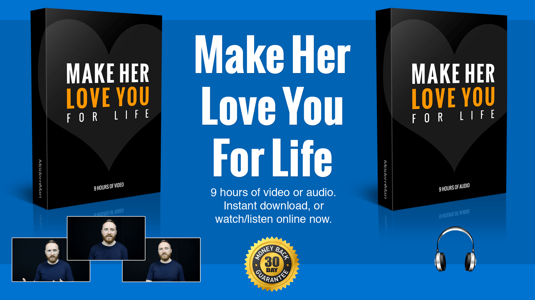 Make Her Love You For Life: Video and Audio Version