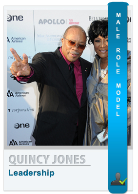 Quincy Jones: Role model for men