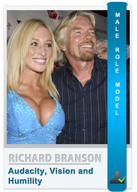 Richard Branson: Role model for modern men