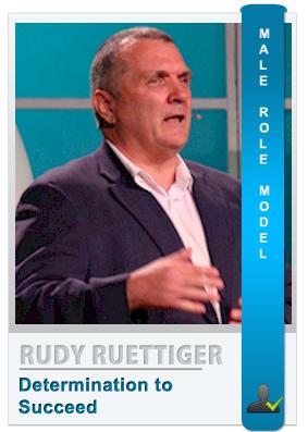 """Daniel """"Rudy"""" Ruettiger - Male role model"""