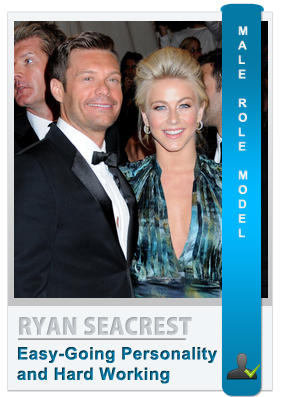 Ryan Seacrest - Male role model