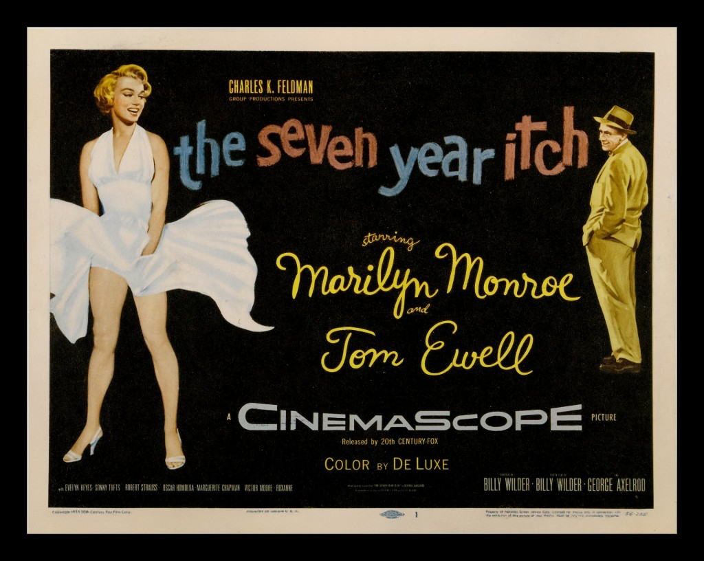 Seven year itch - Marilyn Monroe