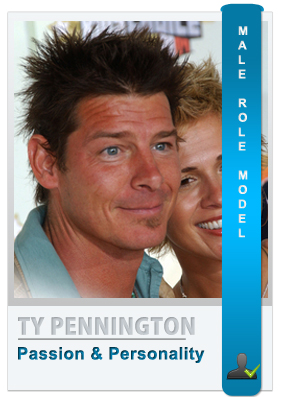 Ty Pennington - Male role model