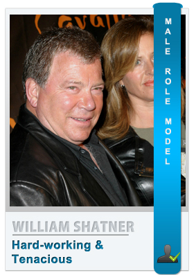 William Shatner: Role model for modern men