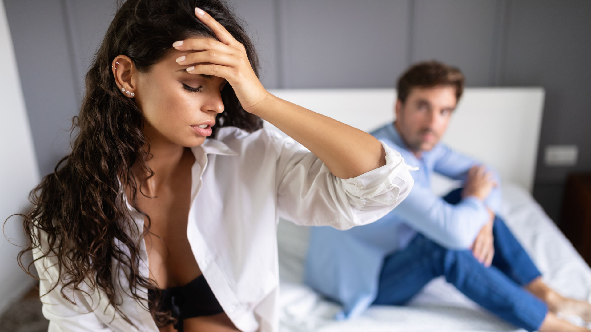 A woman breaks up with a guy because she is tired of all the arguing and fighting