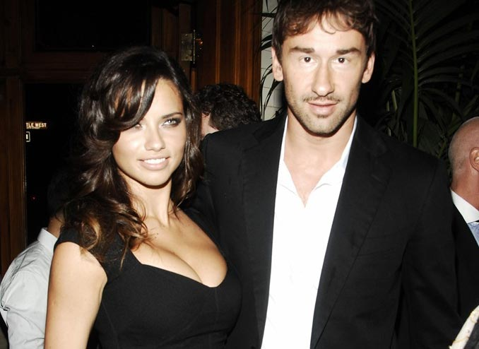 Adrian Lima with her husband Marko Jaric