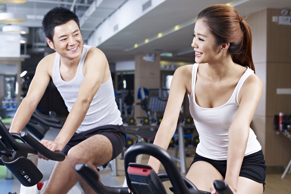 Approaching women at the gym