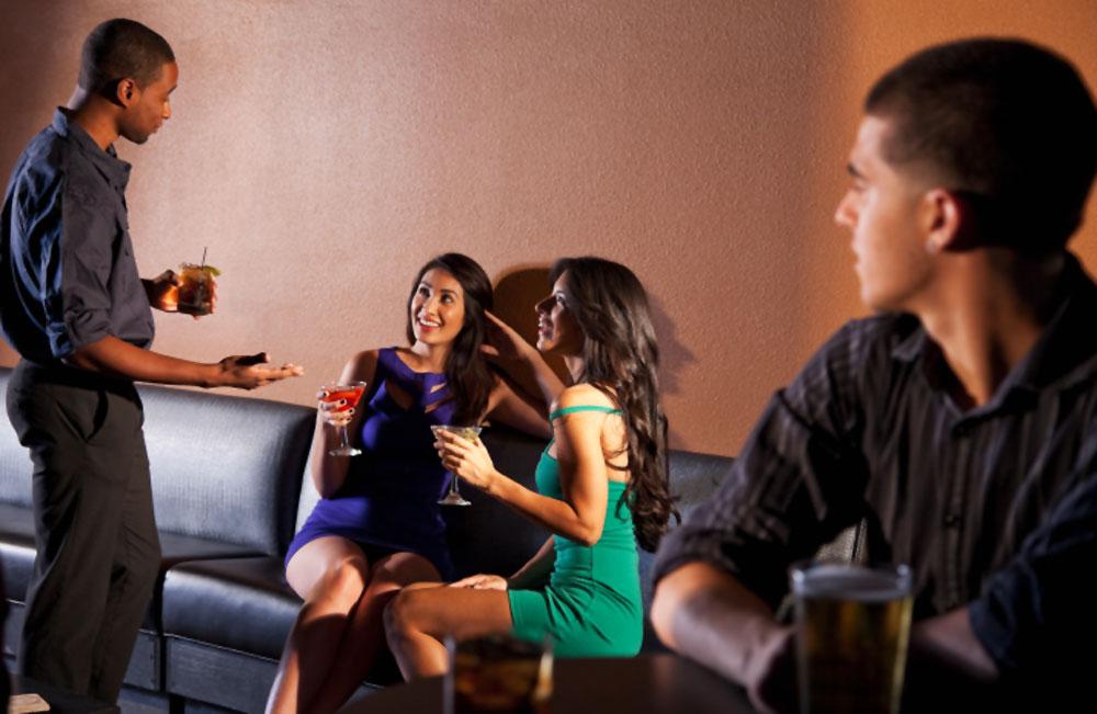 Approaching women at a bar