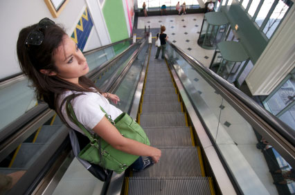 Approaching women in shopping malls