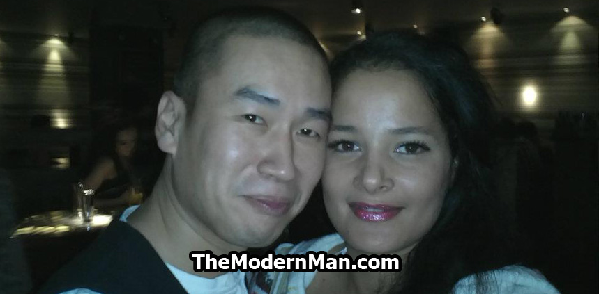 Asian guy with white girlfriend