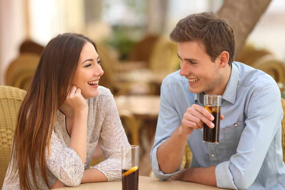 Attract her by displaying attractive traits