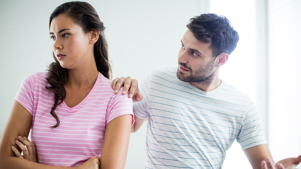 Avoid talking about your feelings for her before you are fully back together