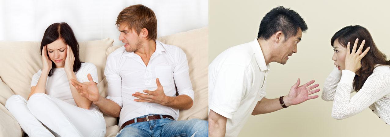 Husband belittling wife