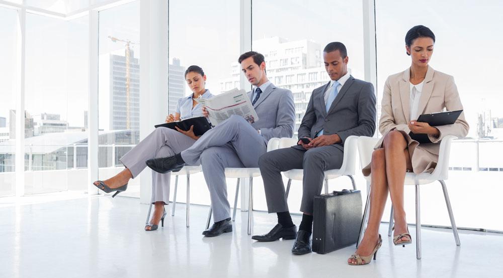 Business waiting room - quiet