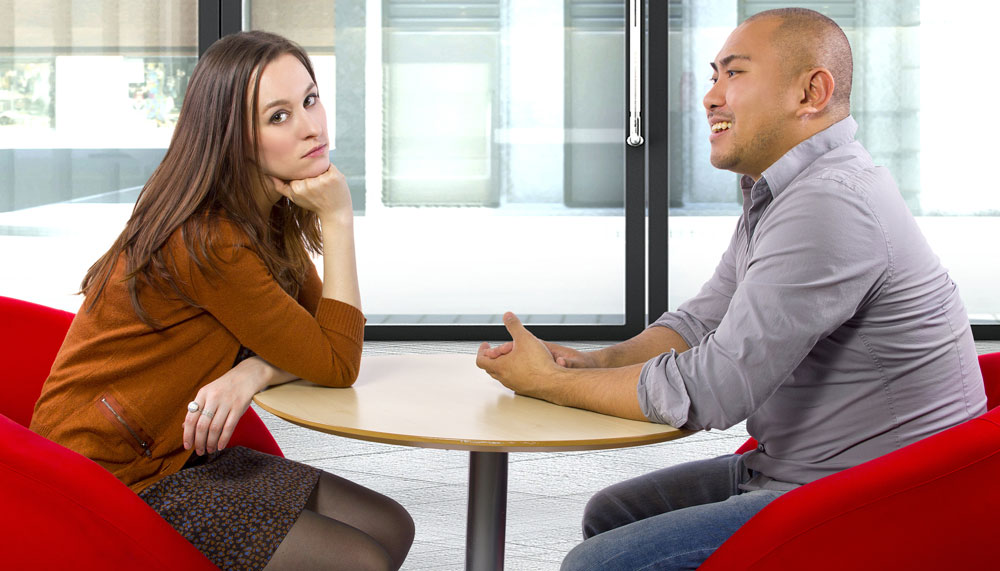 Complimenting a woman without first making her feel attracted