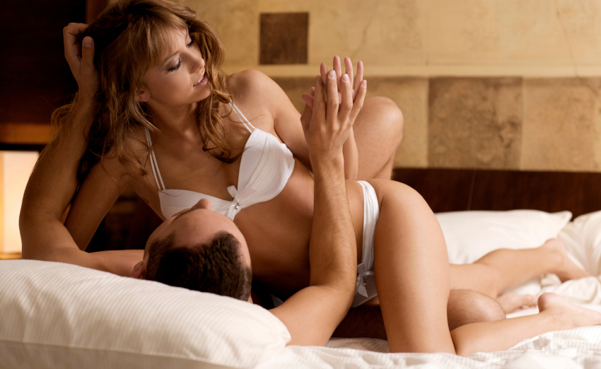 What to say when in bed with a woman