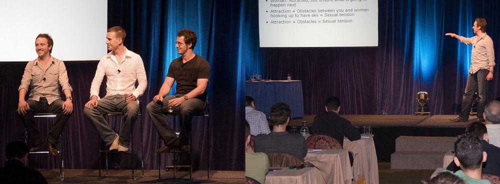 Dan, Ben and Stu - Dating Power seminar