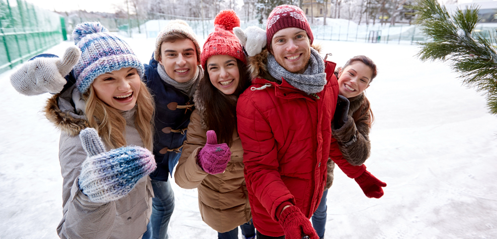 Do an outdoor activity with friends