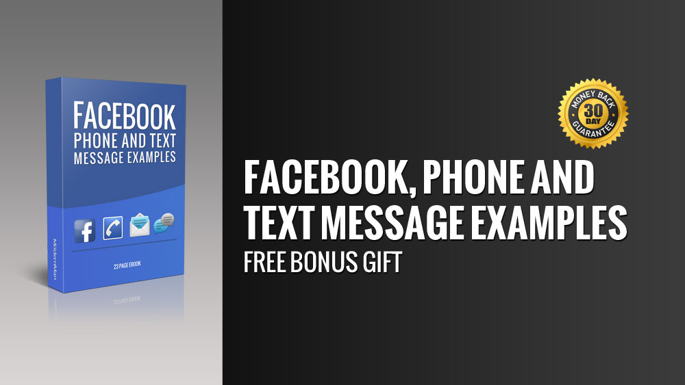 Facebook, Phone and Text Message Examples bonus