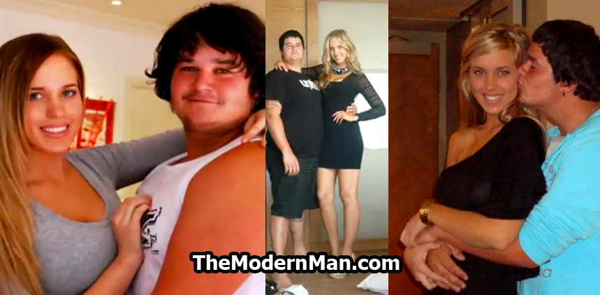 Skinny girl dating chubby guy