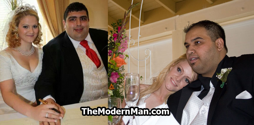 Fat men marrying beautiful women