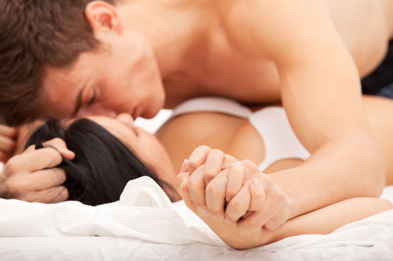 Female dominance in bed