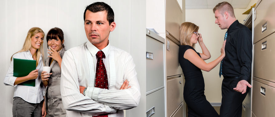 How to tell if female coworker is attracted to you