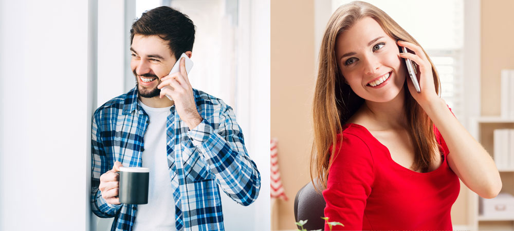 Making your ex feel attracted over the phone