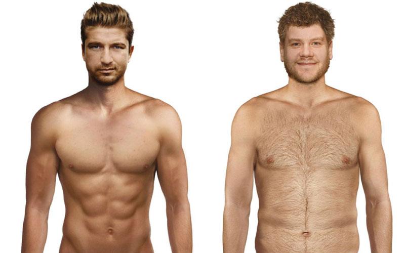 Male attractiveness - study