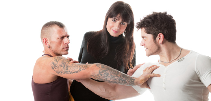 Meeting girlfriend's ex boyfriend or husband