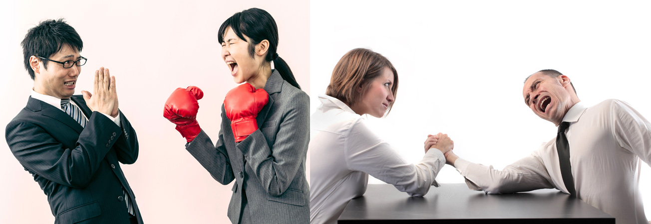 Men intimidated by strong modern women