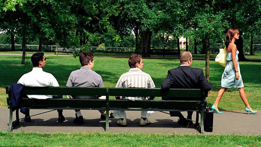 Men on the lookout for a place to plant their seed
