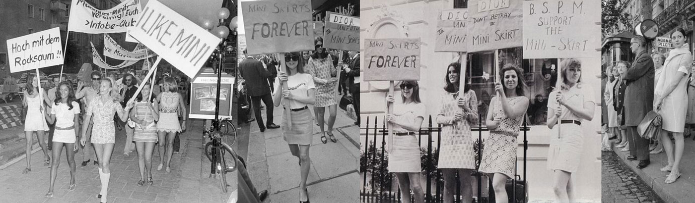 Mini skirt protests