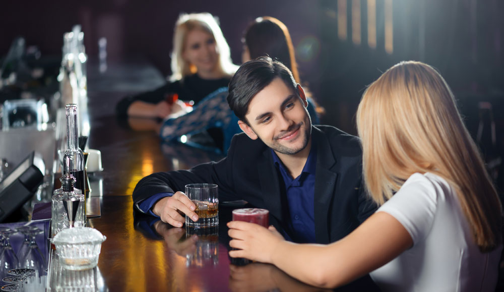 Nice guy getting the girl