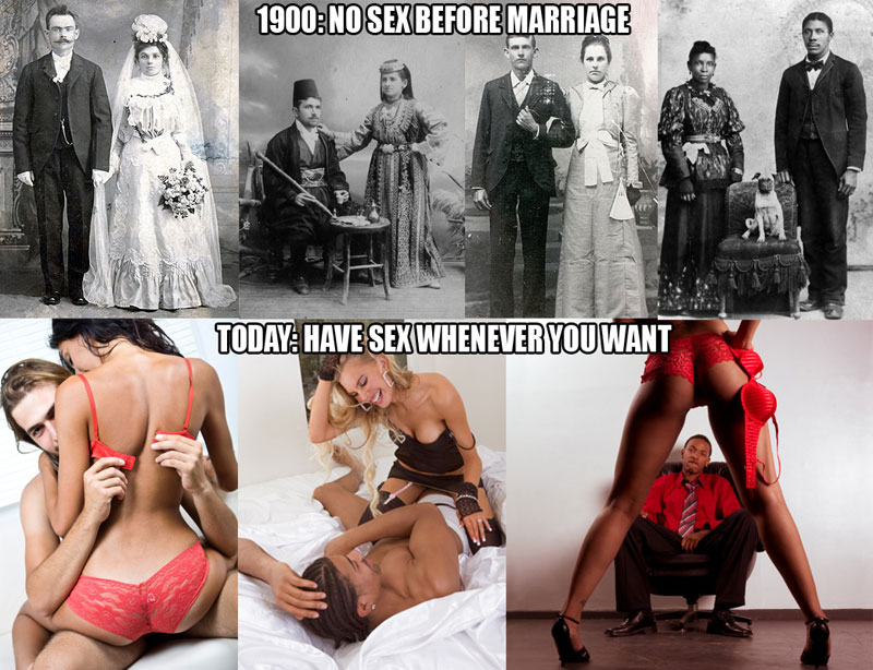 No sex before marriage vs. have sex whenever you want