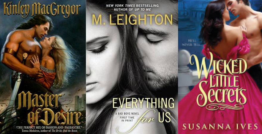 Mysterious guys in romance novels