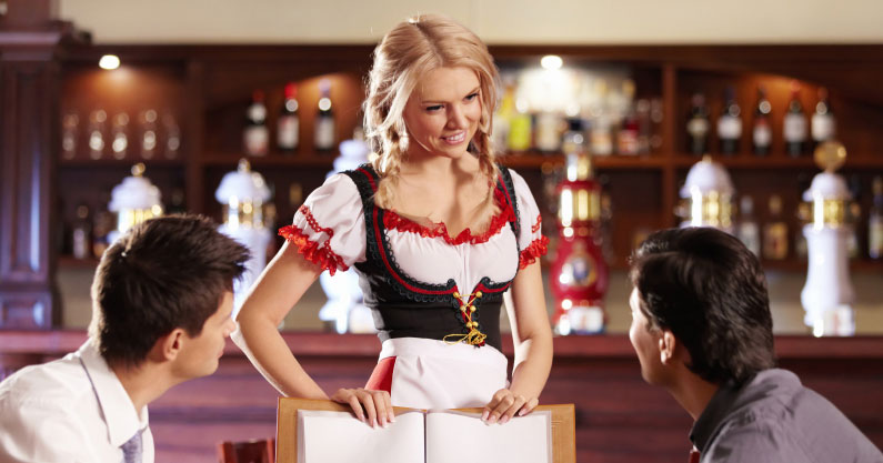 How to score yourself a hot waitress