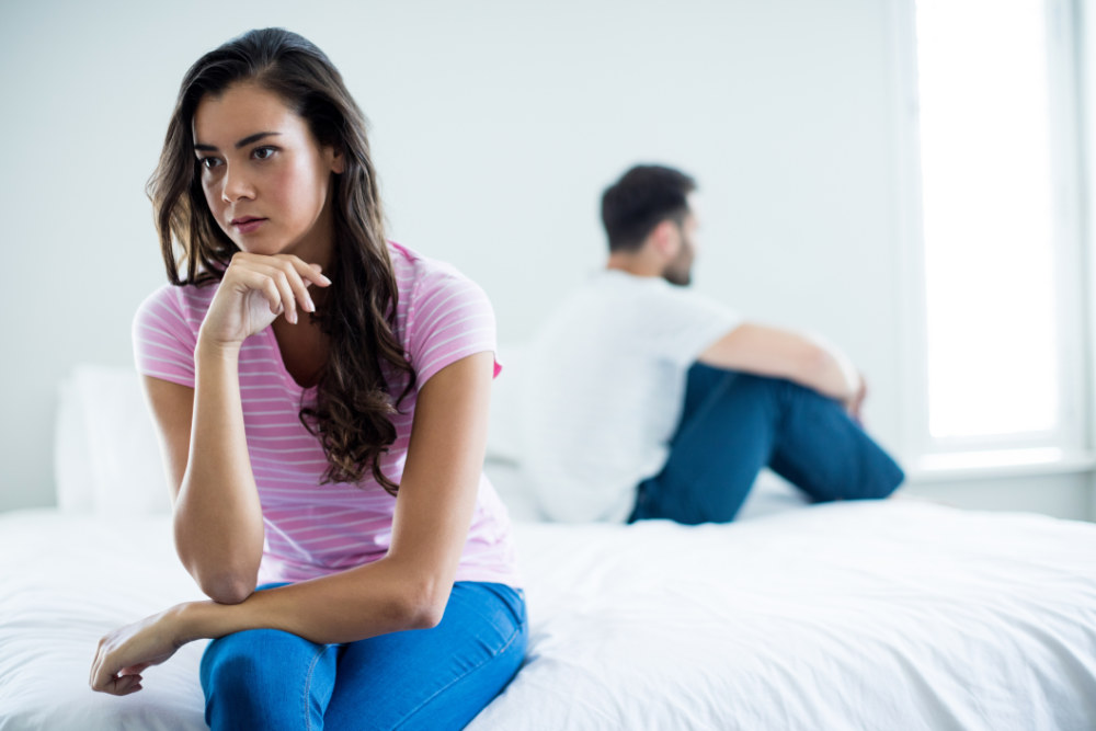She is tired of trying to make the relationship work