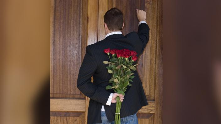 Should I knock on my ex's front door?