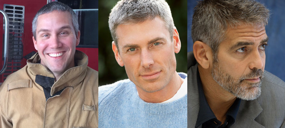 Should men dye their gray hair?