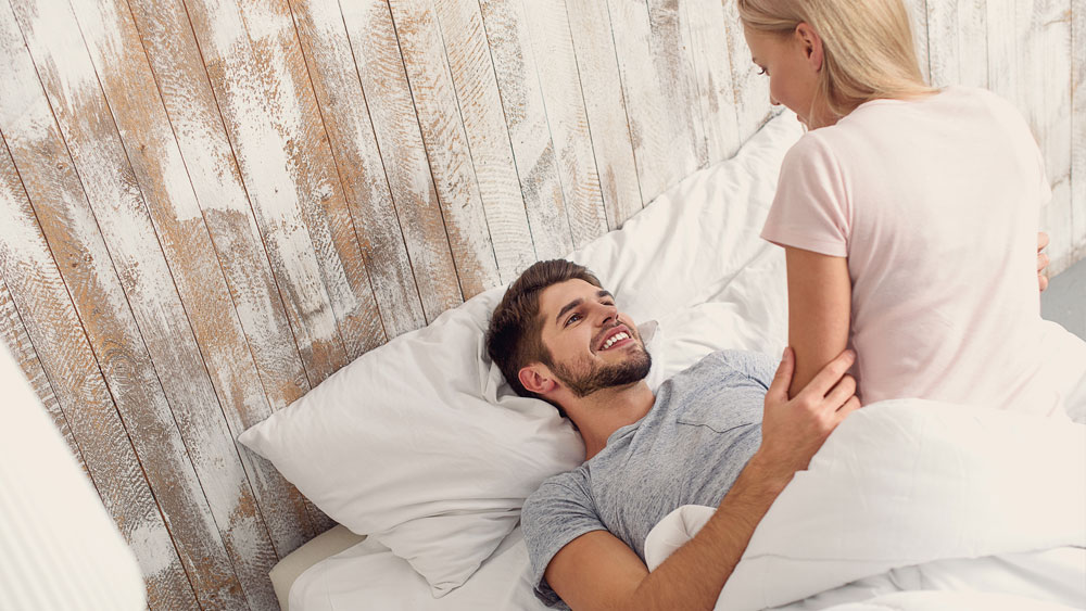 Start the relationship by hooking up again