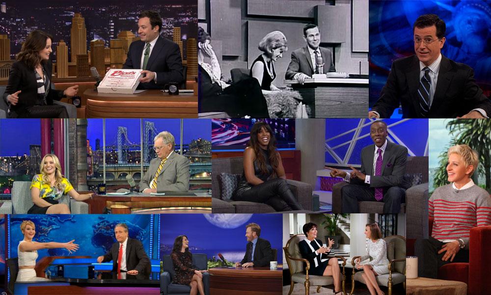 Talk show hosts who use Playfully Arrogant Humor