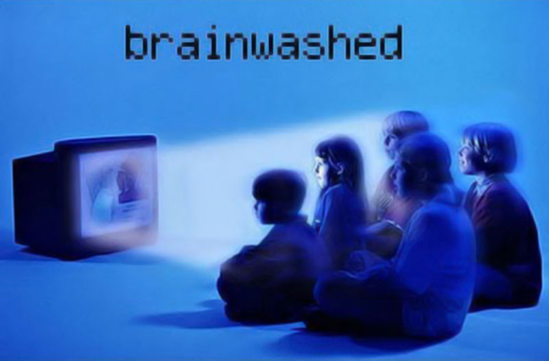 TV brainwashing children