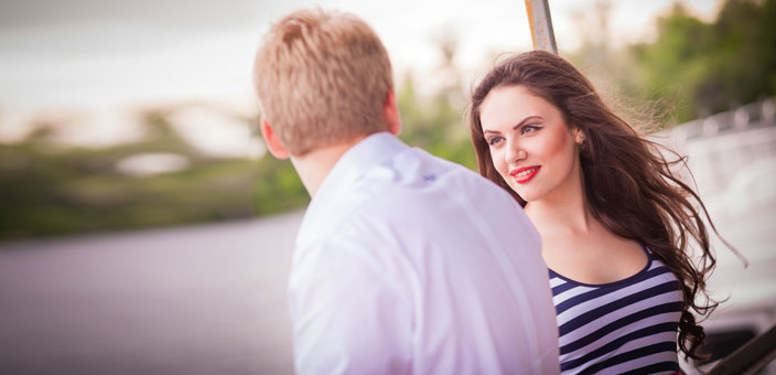 What to do if a girl says she likes you